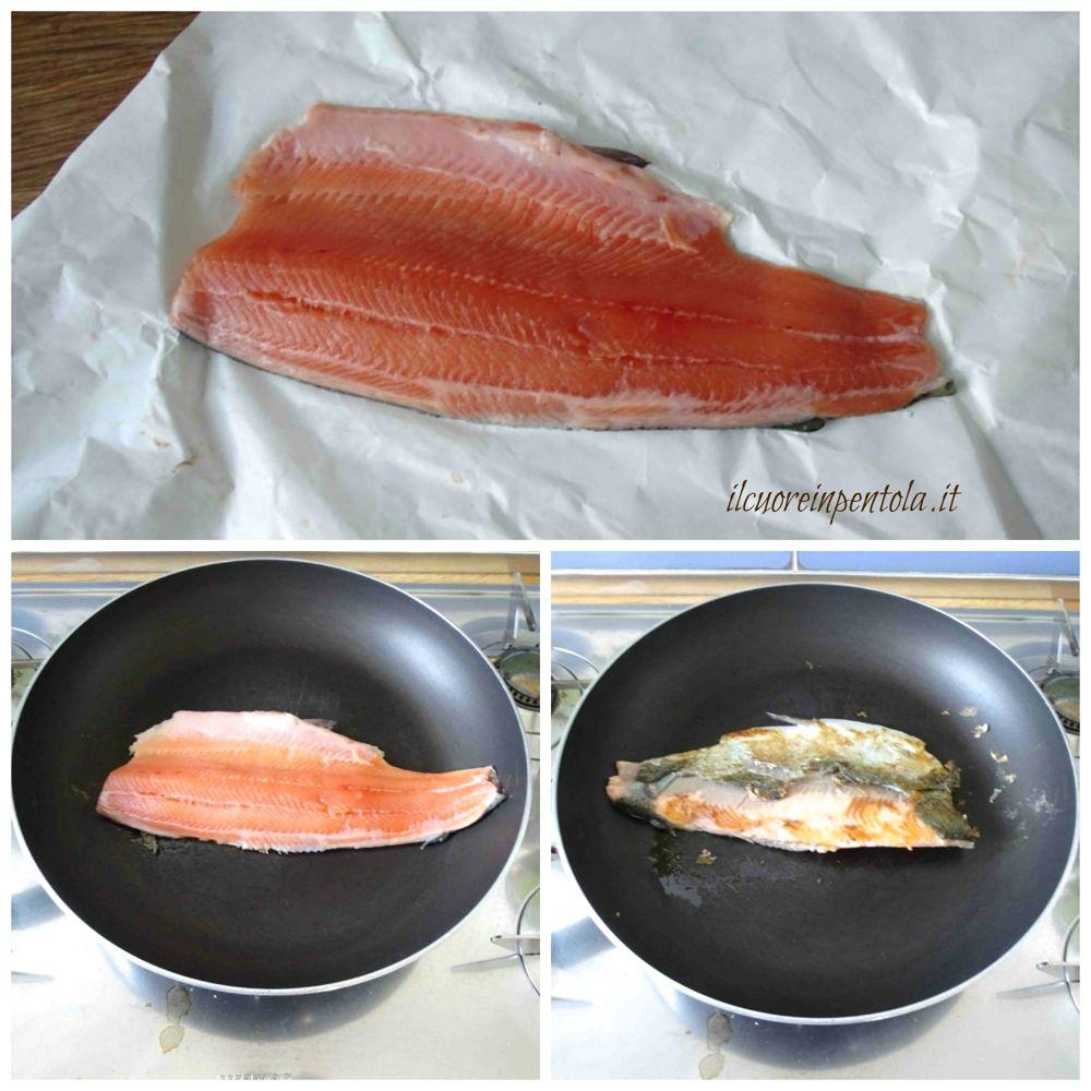 cuocere trota salmonata