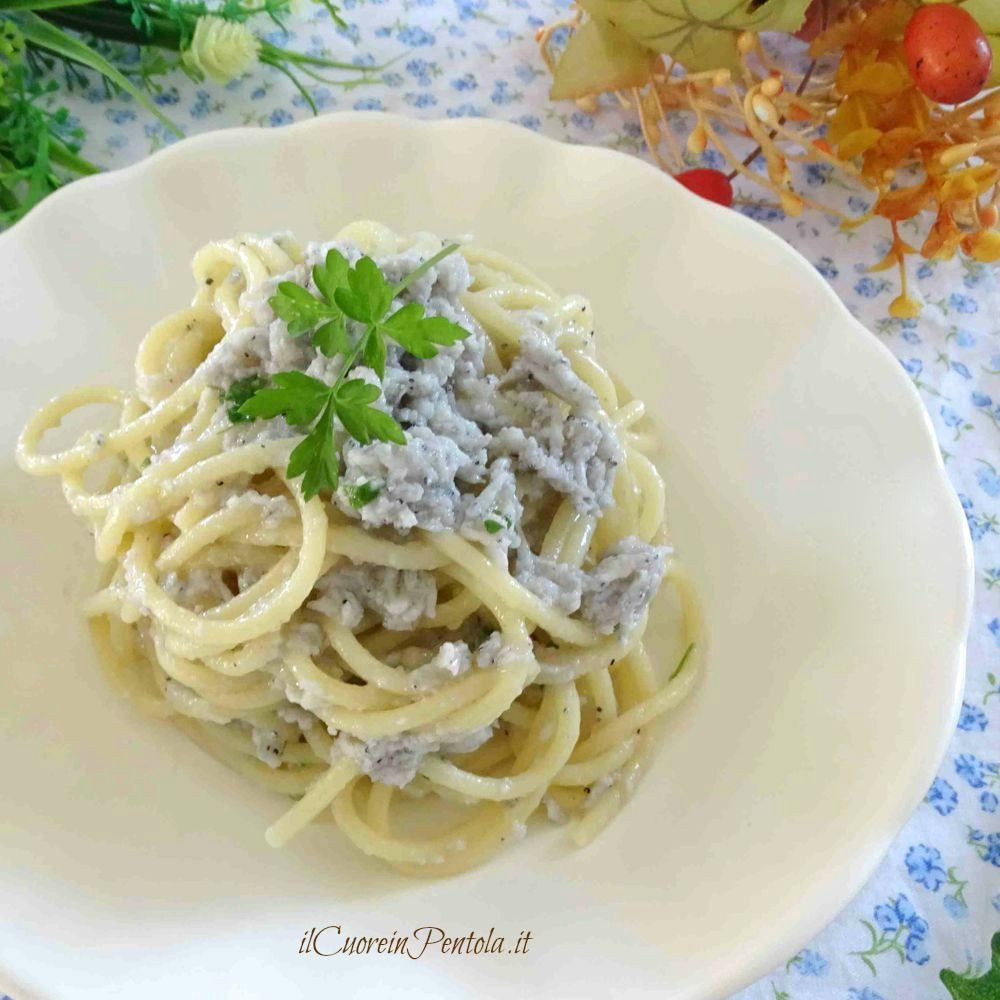 Pasta con la neonata ricetta pasta con bianchetti il for Pasta ricette