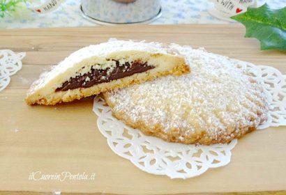 Biscotti di pasta frolla ripieni