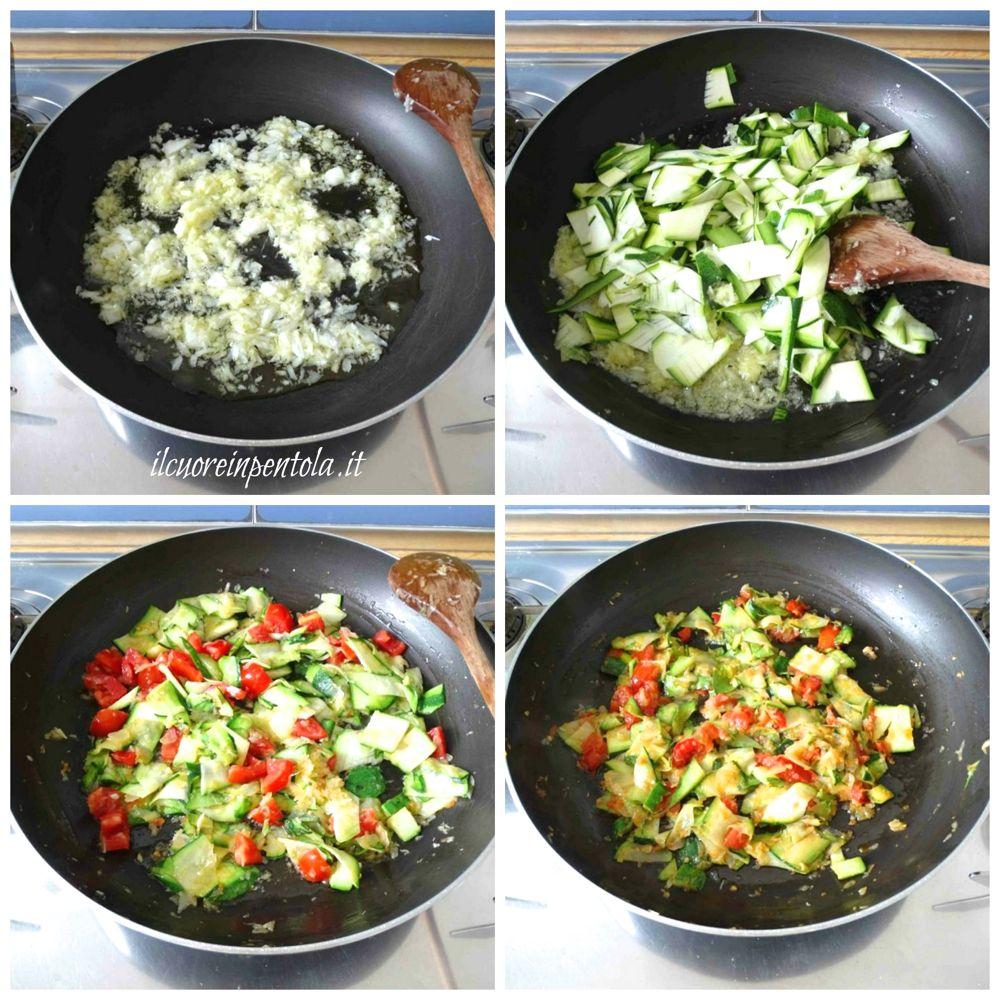 cuocere zucchine per ripieno