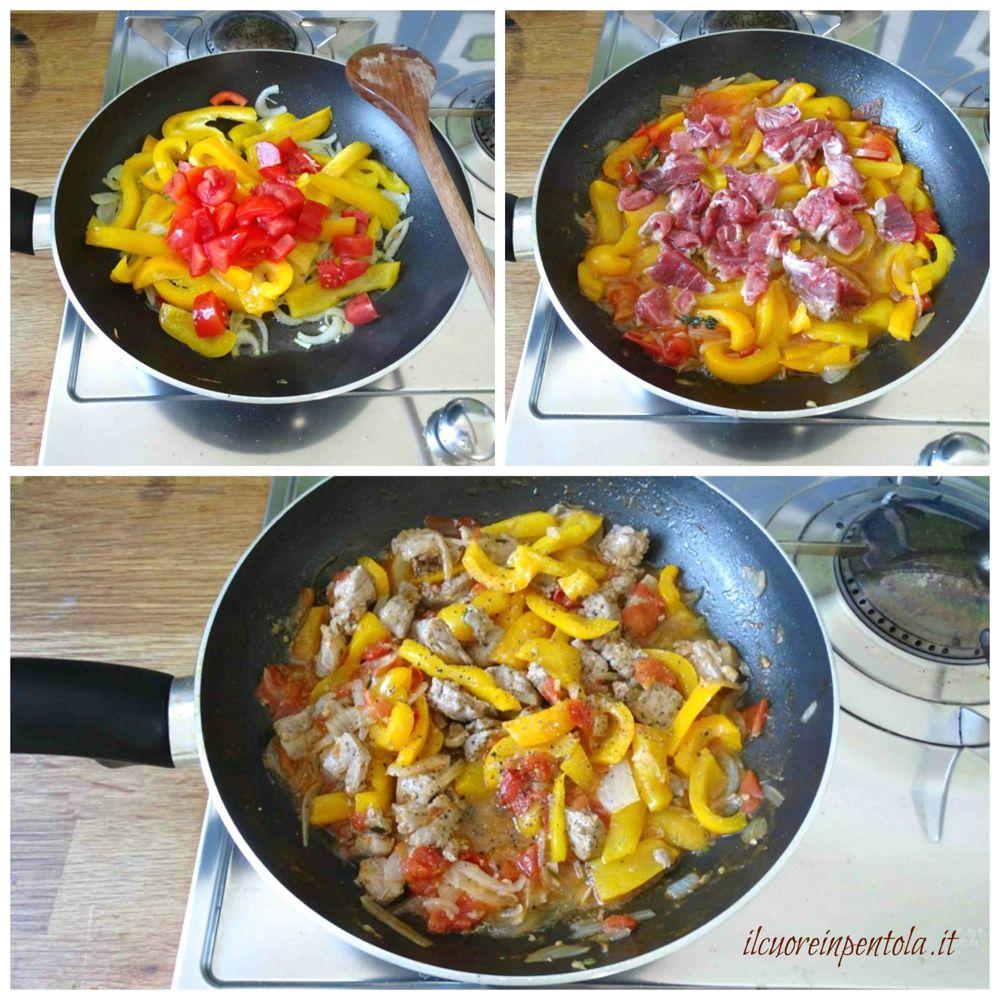 aggiungere pomodoro e tonno