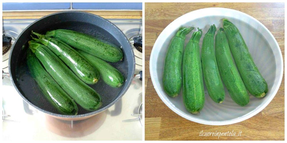 bollire zucchine