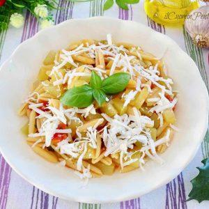 pasta con zucchina lunga siciliana