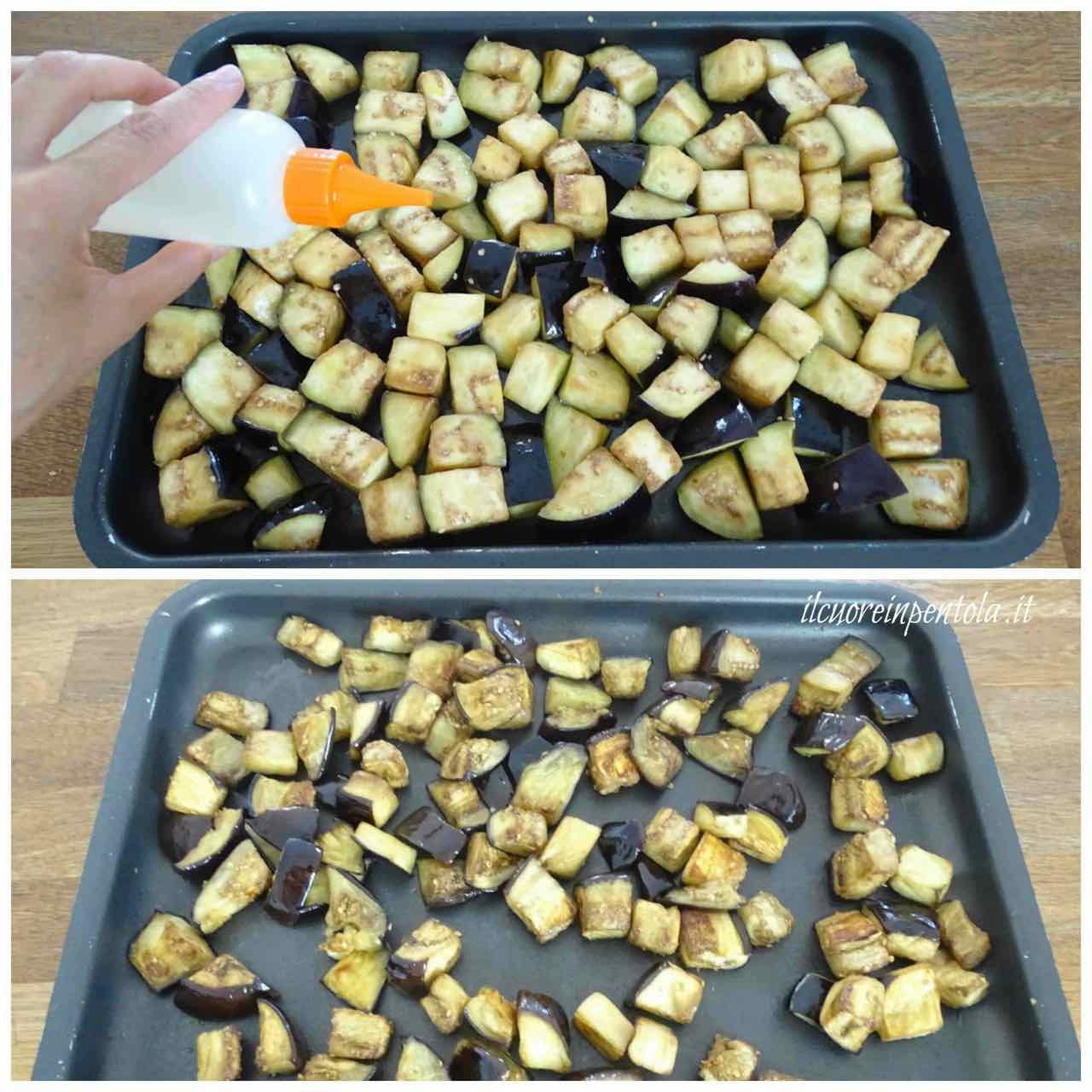 cottura melanzane in forno