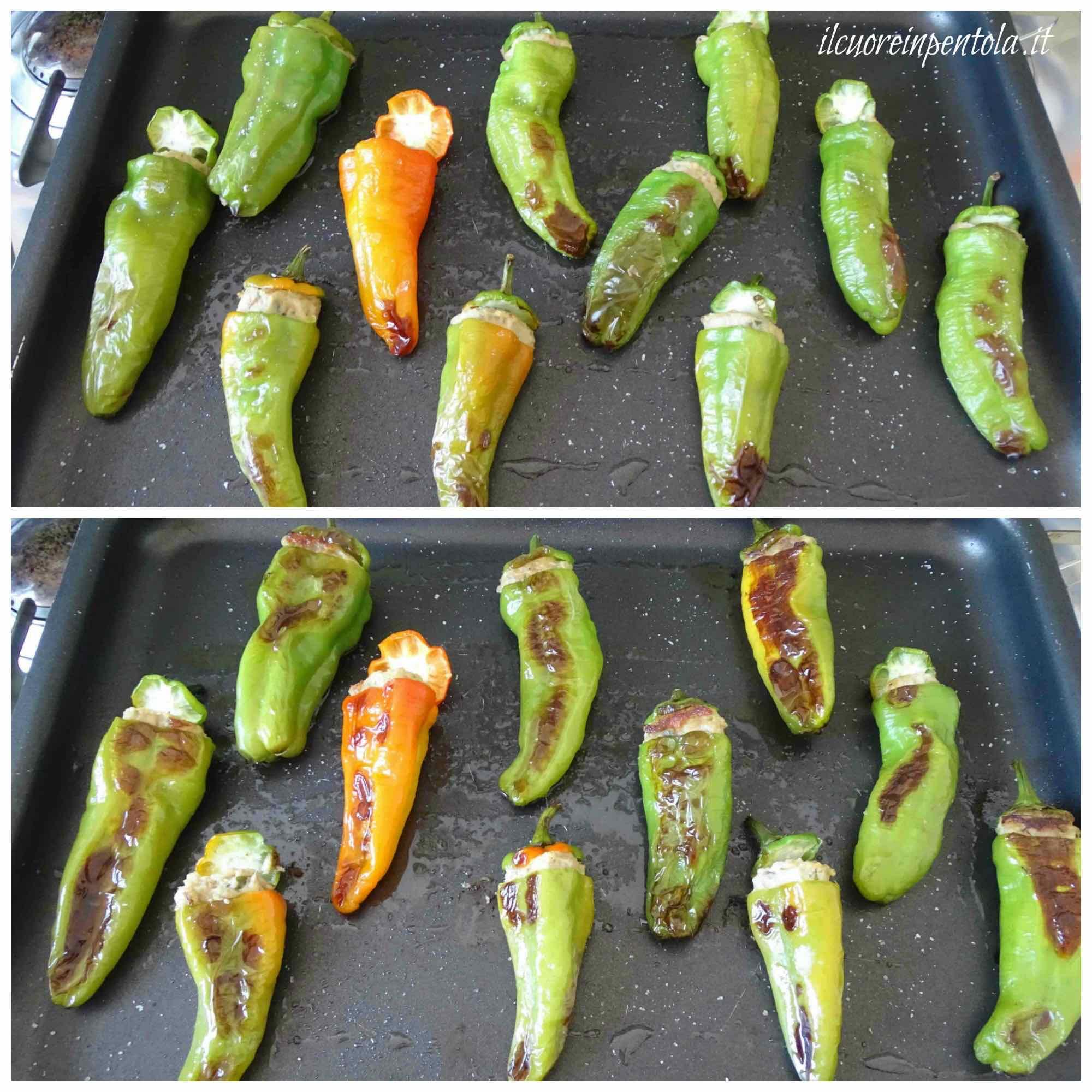 cottura in forno friggitelli