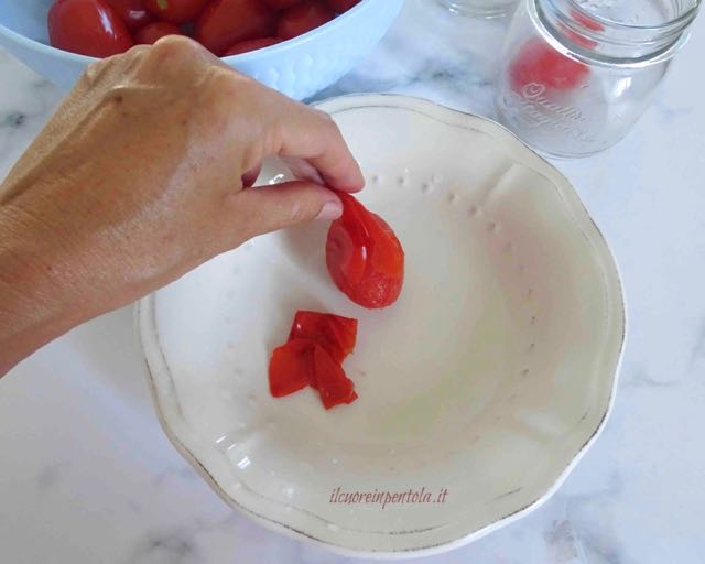 spellare pomodori