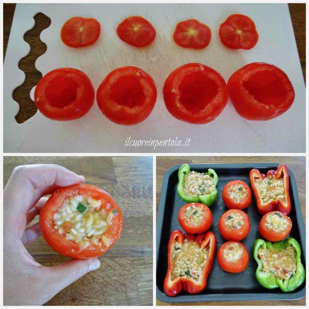 riempire pomodori