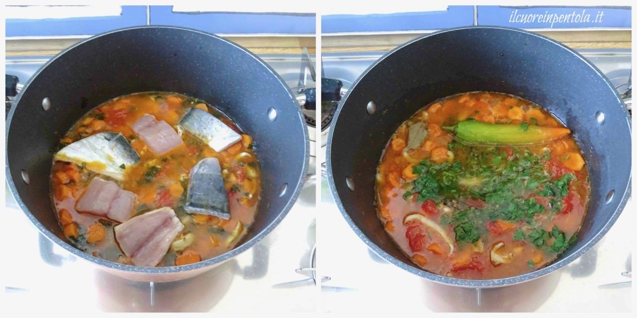 cuocere brodo pesce