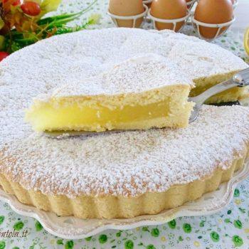 torta con crema di limone