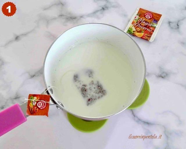 aromatizzare latte