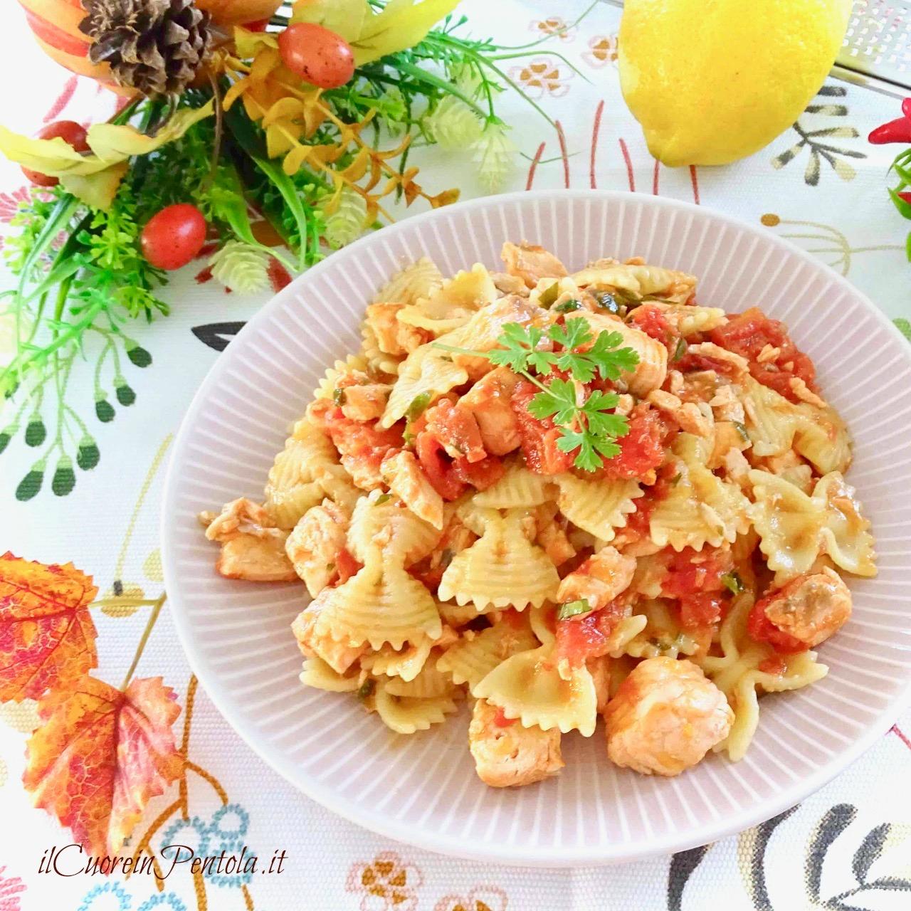 Pasta Con Salmone Fresco Ricetta Il Cuore In Pentola