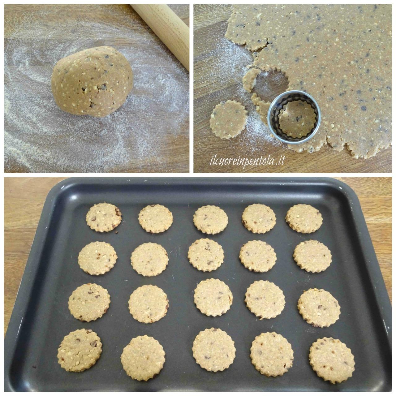 cottura biscottti