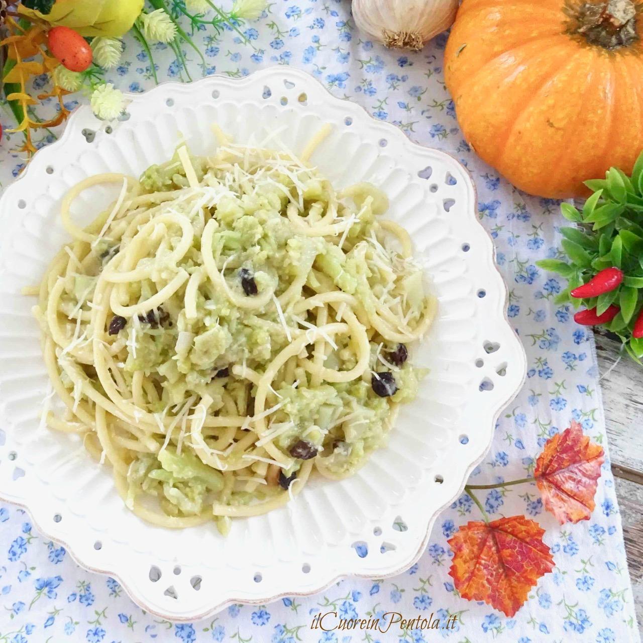 pasta e cavolfiore alla siciliana