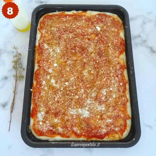 aggiungere formaggio, pangrattato e origano