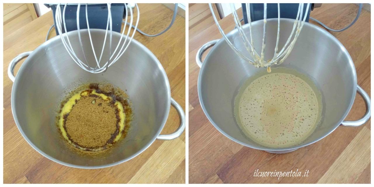 montare uova e zucchero