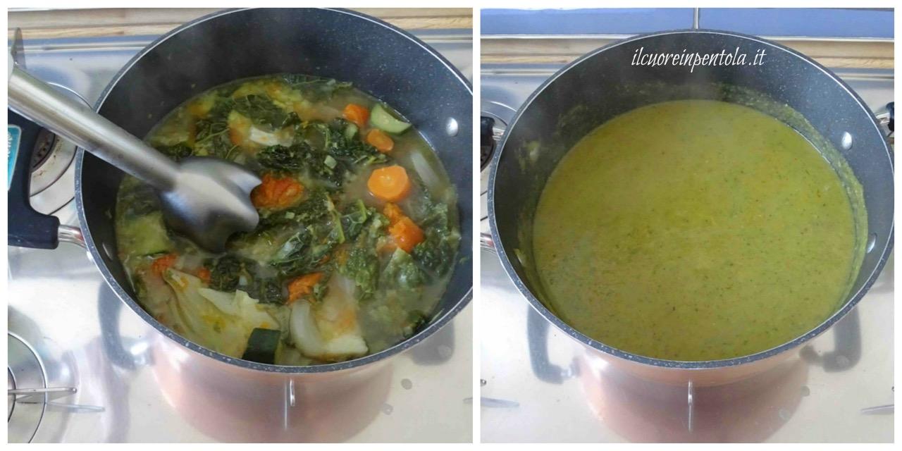 frullare verdure