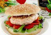 Hamburger di salmone