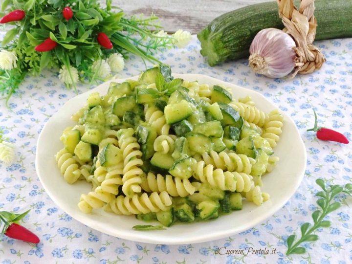 pasta con zucchine bimby