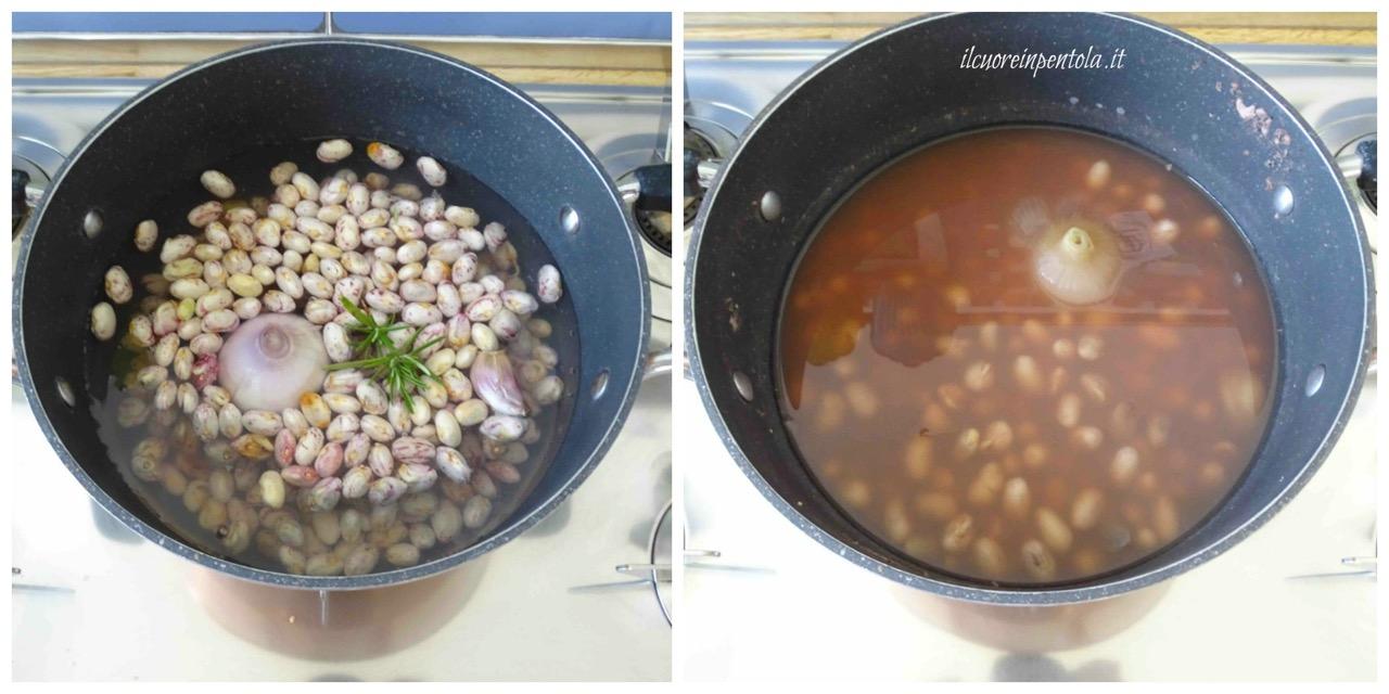 cuocere fagioli