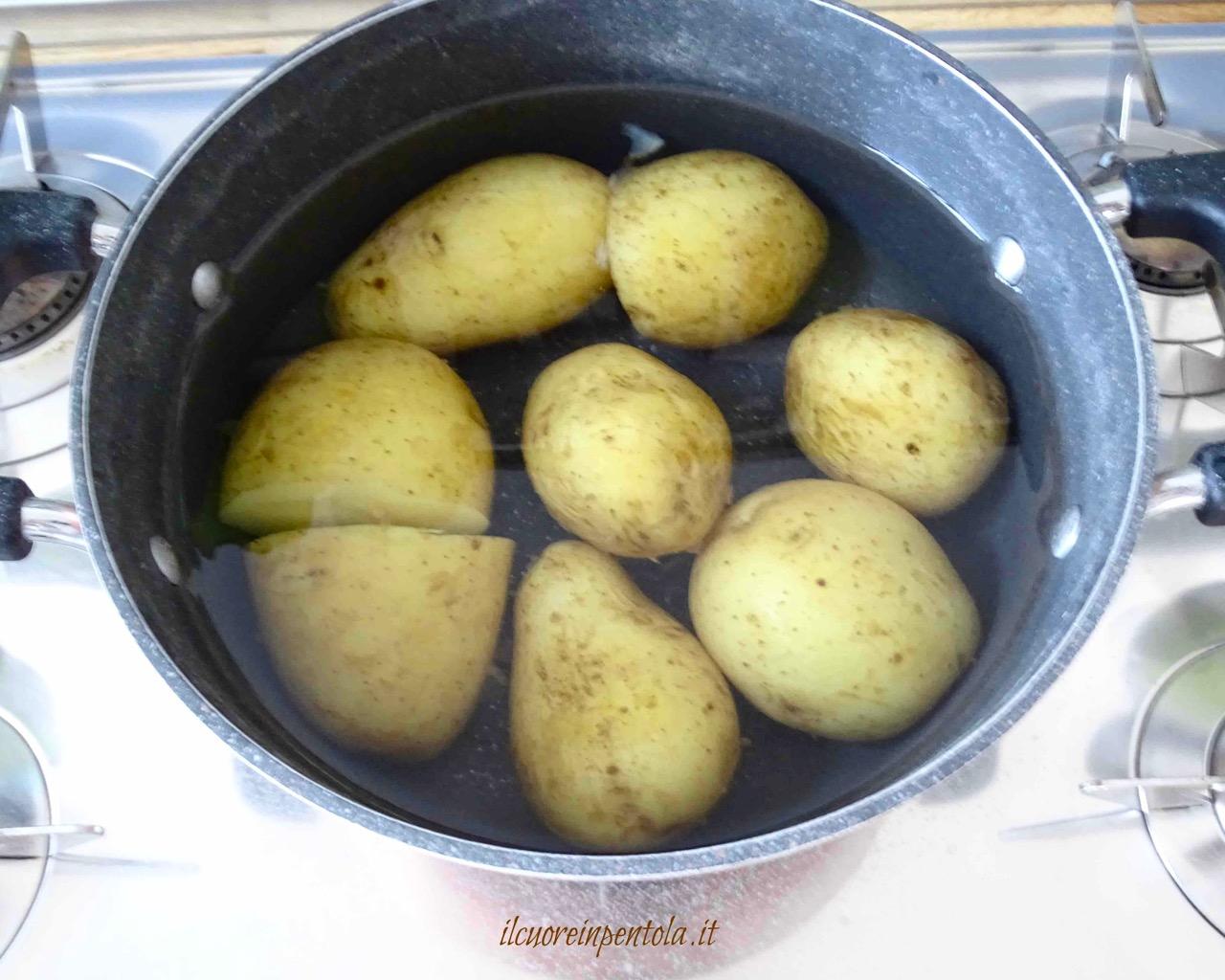 Insalata di patate – Ricette di insalate Il Cuore in Pentola