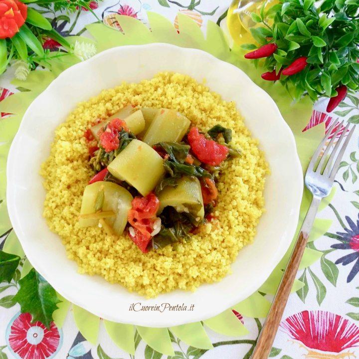 zucchina tenerumi e cous cous