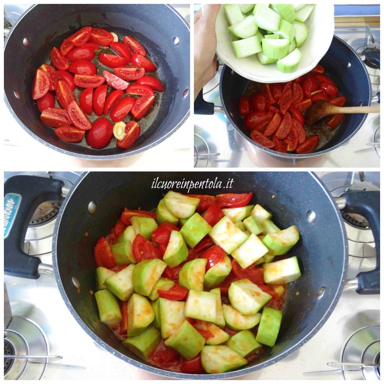 cuocere zucchina