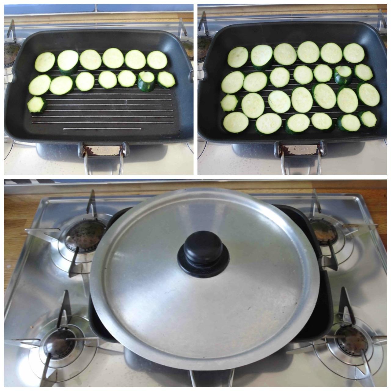 grigliare zucchine