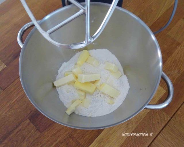 farina  e burro
