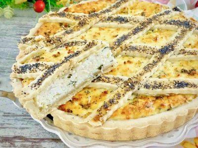 Torta salata con ricotta