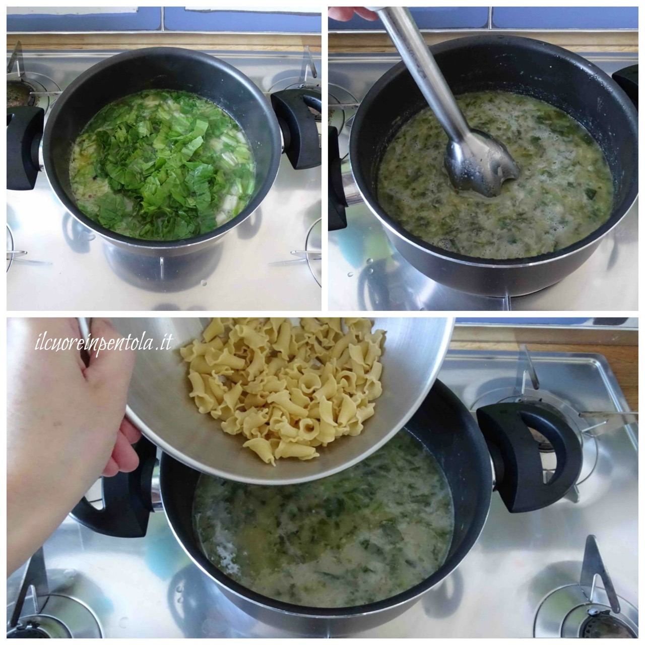 aggiungere verdura