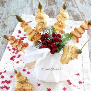alberelli di pasta sfoglia