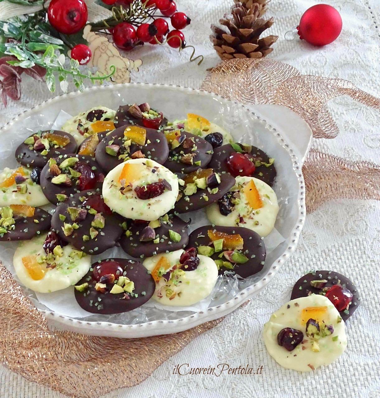 cioccolatini natalizi fatti in casa
