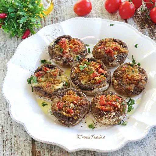 funghi champignon al forno
