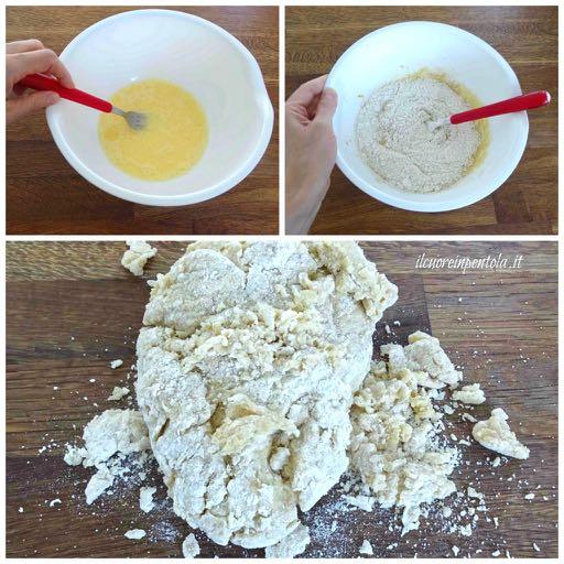 impasto biscotti al latte