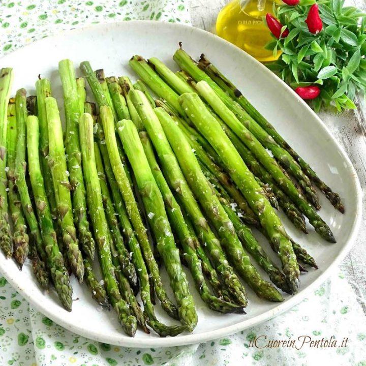 asparagi al forno