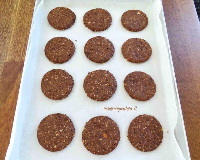 cottura biscotti