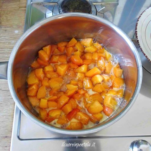 cuocere marmellata