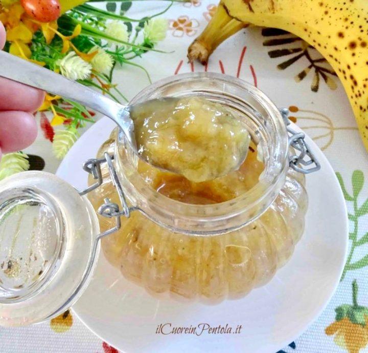 marmellata di banane bimby