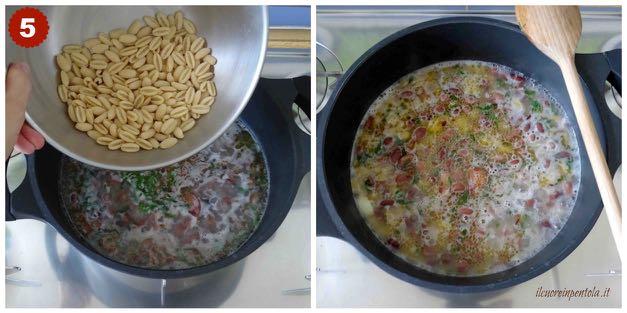 cuocere pasta