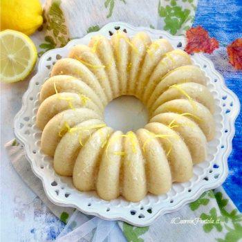 torta vegana al limone