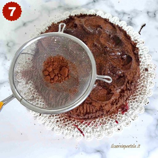 aggiungere cacao amaro
