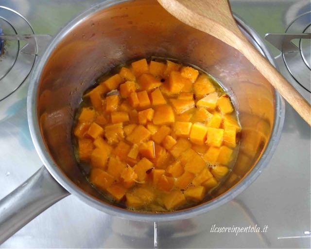 cuocere zucca