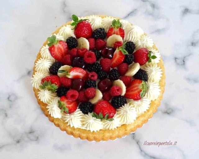 decorare con frutta