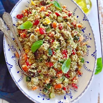 quinoa con verrdure