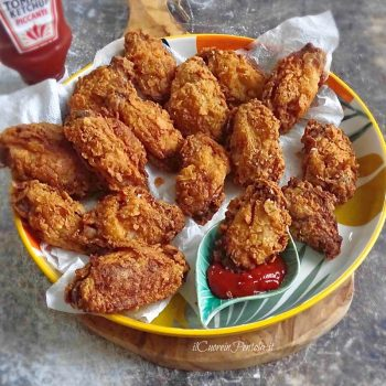 alette di pollo fritte